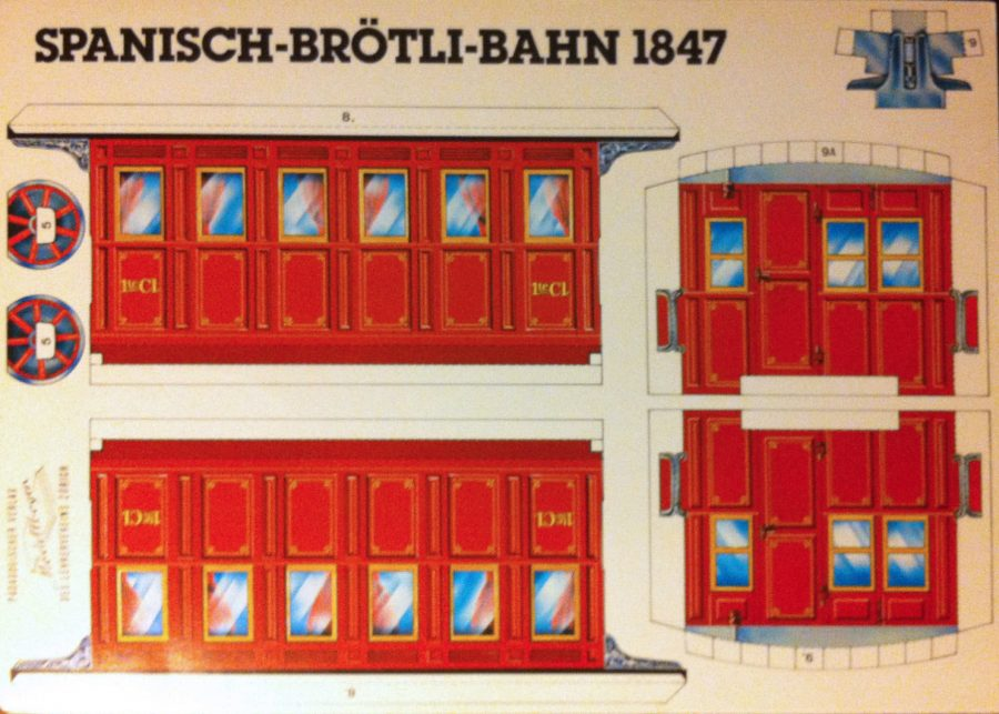 PM002 SPANISCH BRÖTLI BAHN: 1st CLASS COACH A1