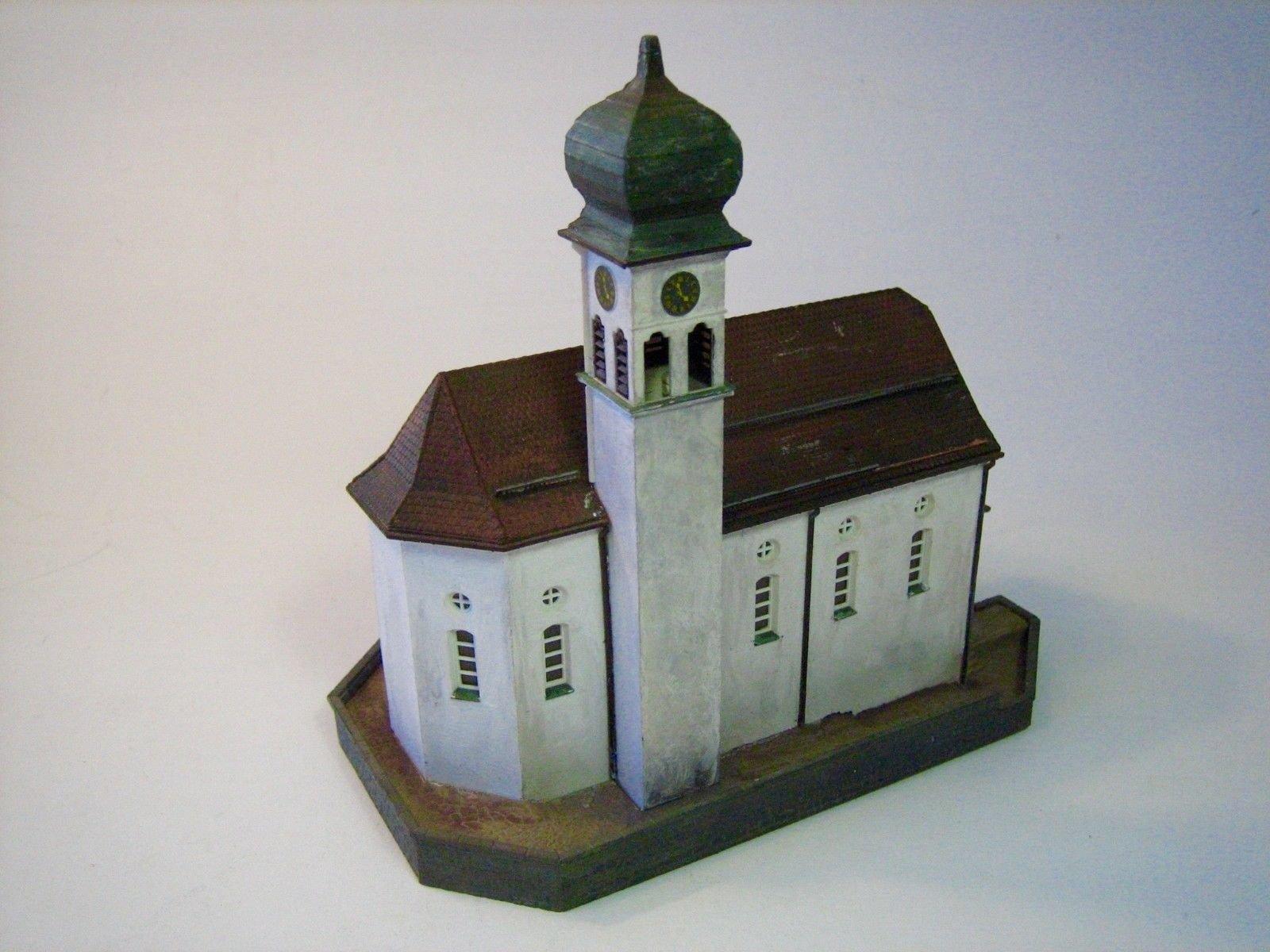 DD007 DIORAMA KIBRI CHURCH 'WASSEN' N 1:160