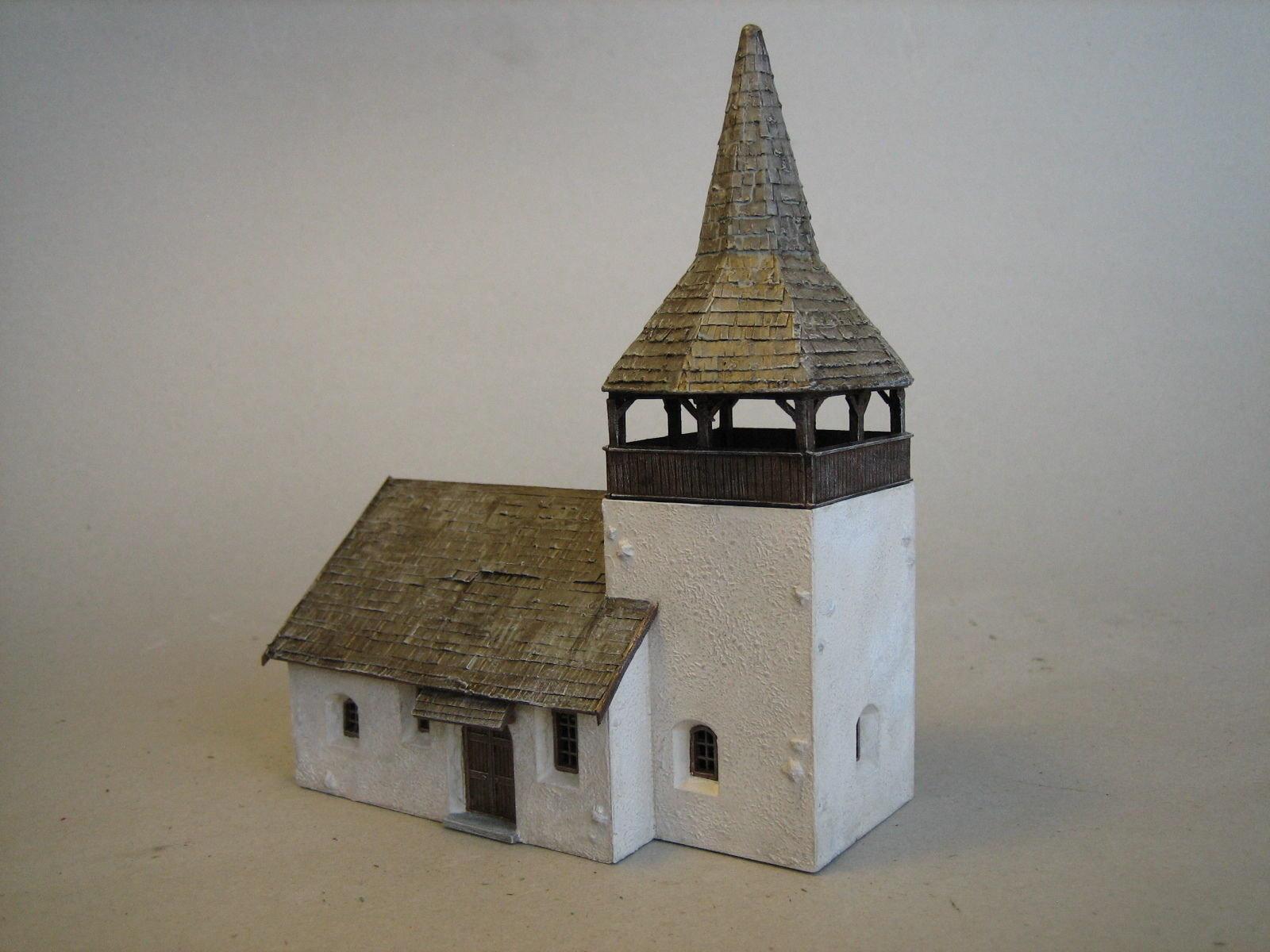DD005 DIORAMA KIBRI ALPINE CHURCH 'SERTIG'