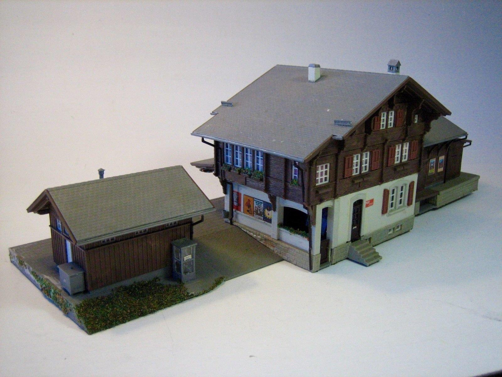 SC001 KIBRI 'OBERRIED' SWISS CHALET RAILWAY STATION