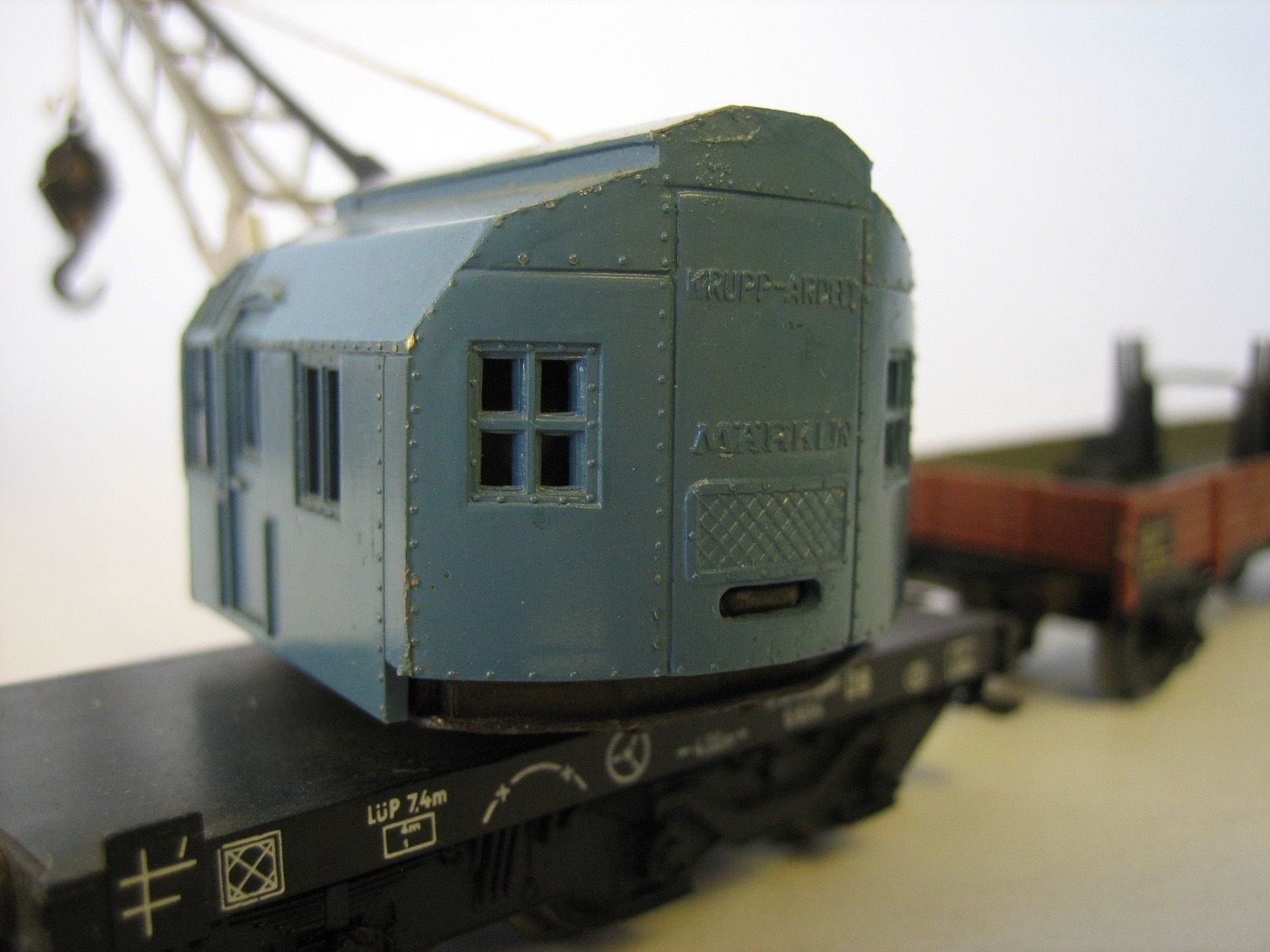MA502 MÄRKLIN 4611.6 + 305/1 RAILWAY CRANE AND WAGON