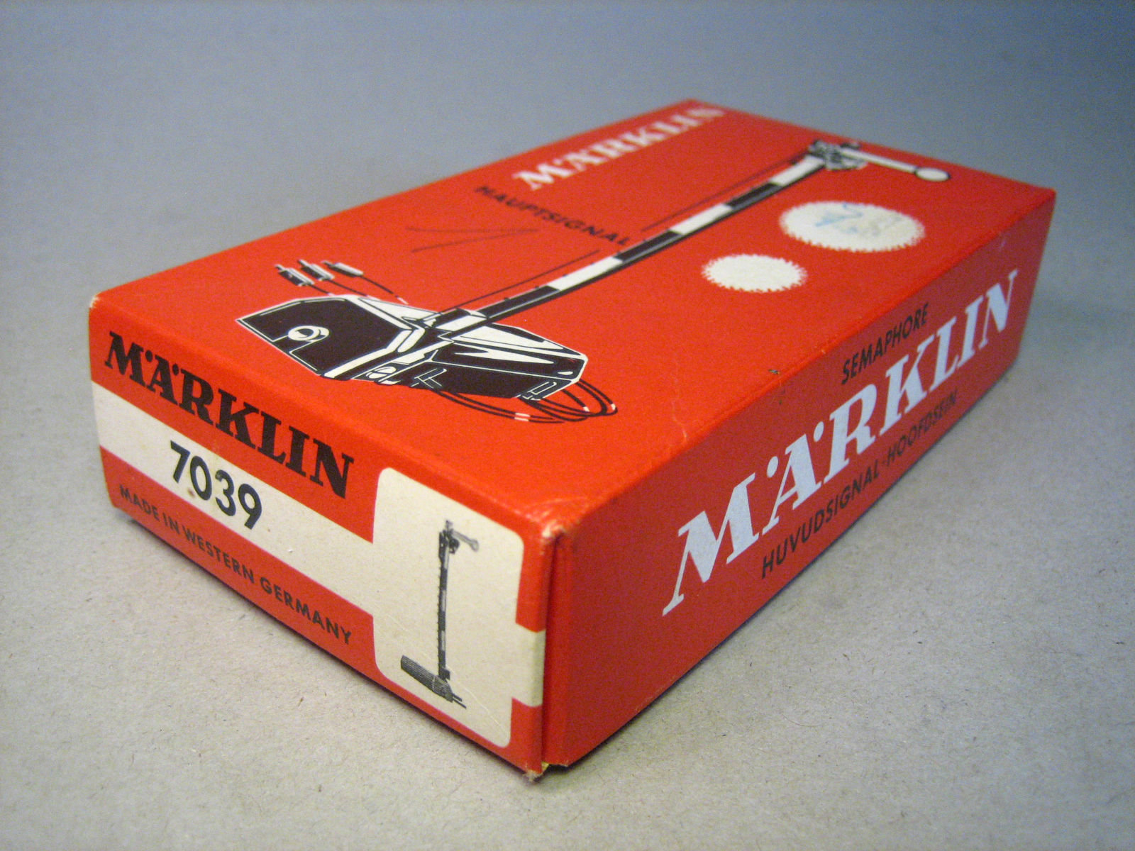 MA701 MÄRKLIN 7039 SEMAPHORE SIGNAL