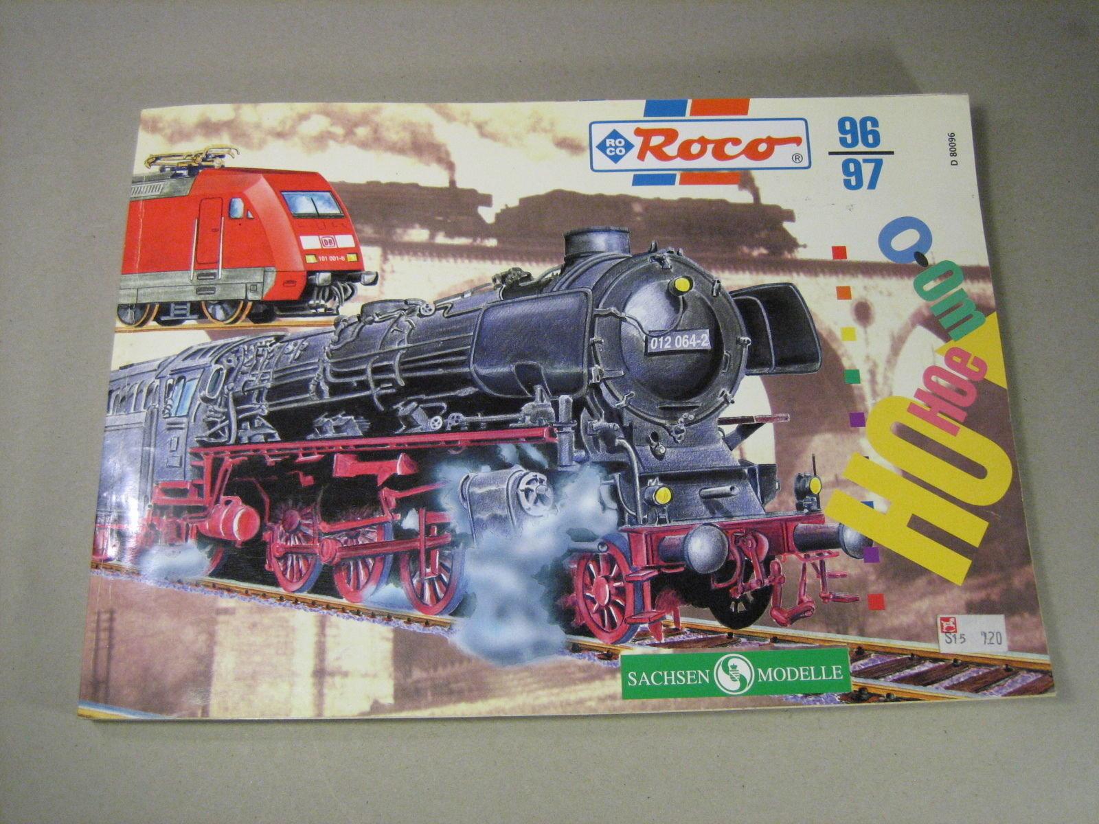 PB002 ROCO 1996-97 CATALOGUE (GERMAN LANGUAGE)